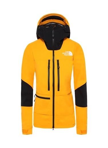 The North Face Summit L5 Kadın Mont Sarı/Siyah Oranj